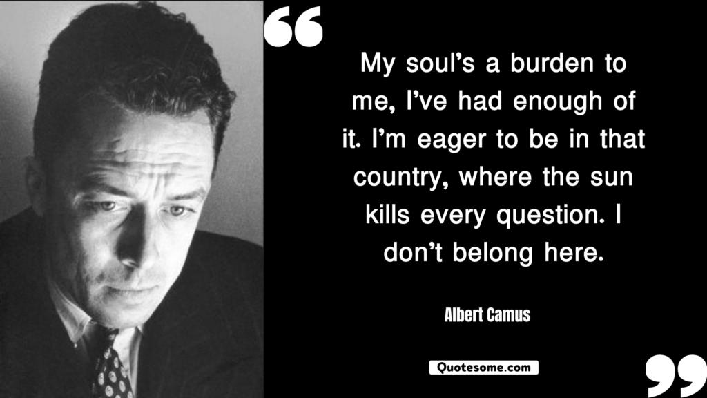 Albert Camus Quotes